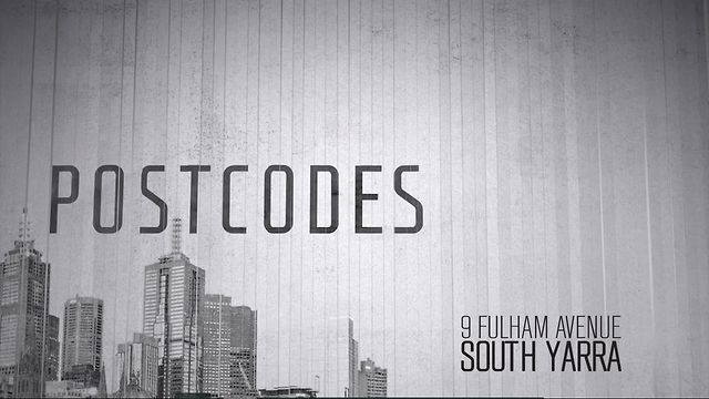 Postcodes 13 - 9 Fulham Ave, South Yarra