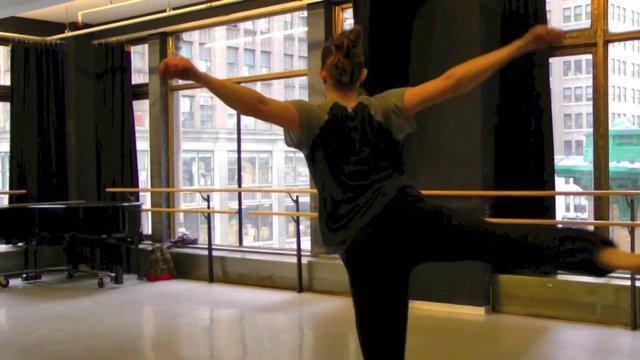 "Dance Up Close-A Minute of Modern Spiritual - Stephen Petronio Company rehearsing "" Like Lazarus Did"""