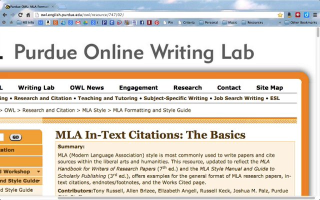 mla citation helper Guide includes general theatre information and pages for specific theatre classes online guides and resources for citing your sources using mla style.