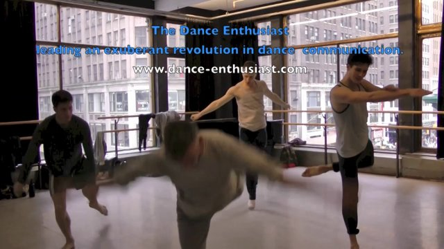 """Dancing Up Close - Saying Yes- Stephen Petronio Company in Rehearsal for """"Like Lazarus Did"""""""