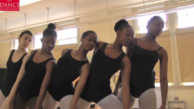 "Dance Up Close :Talented Unlimited H.S. Students Learn Anna Sokolows ""Kaddish"" from  Deborah Zall"