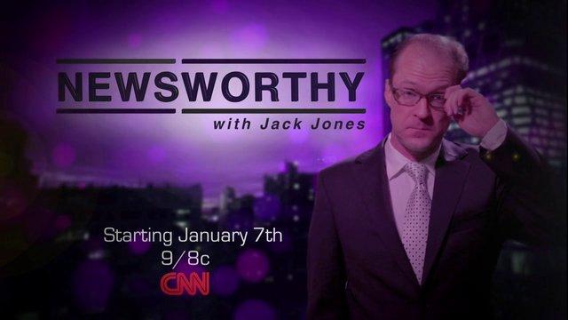 Newsworthy with Jack Jones - CNN Promo