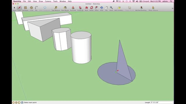 how to move shapes in sketchup