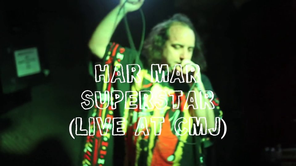 Har Mar Superstar Live At CMJ From Dirty Laundry TV - Video