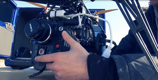 First real RED Scarlet-X kopter flight in Russia