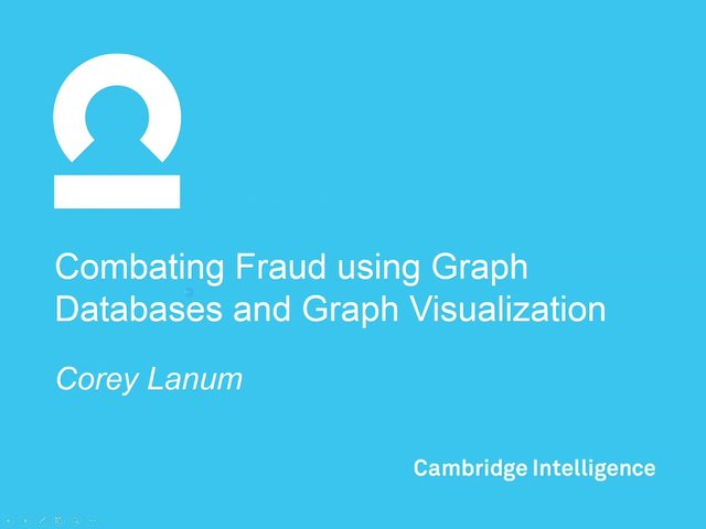 0425 - Visualizing Fraud Data with Cambridge Intelligence