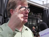 Robert Scoble &amp; Google Glass - interview by Numrush