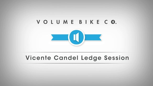 Volume Bikes: Vincente Candel Ledge Session