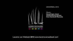Laurens van Walbeek showreel 2013