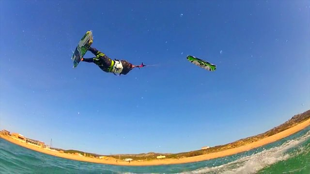 Kitesurfing News - Kitesurfing Corsica island with lolo BSD