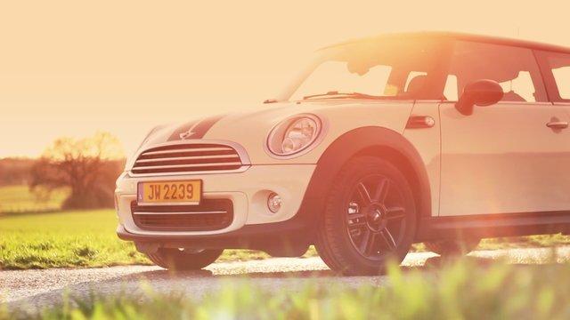 In The Sunlight - Mini Cooper
