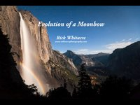 Evolution Of A Moonbow