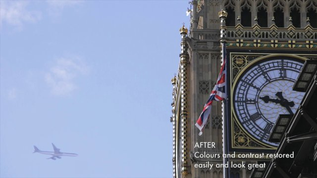 plane clean up at Big Ben
