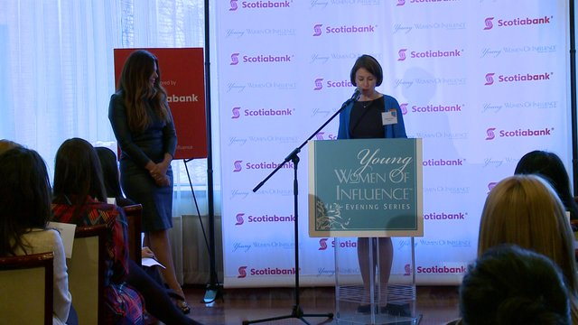 Creating Lasting Connections, Natasha Koifman, President, NKPR at Young Women of Influence Evening Lecture, Toronto, April 25