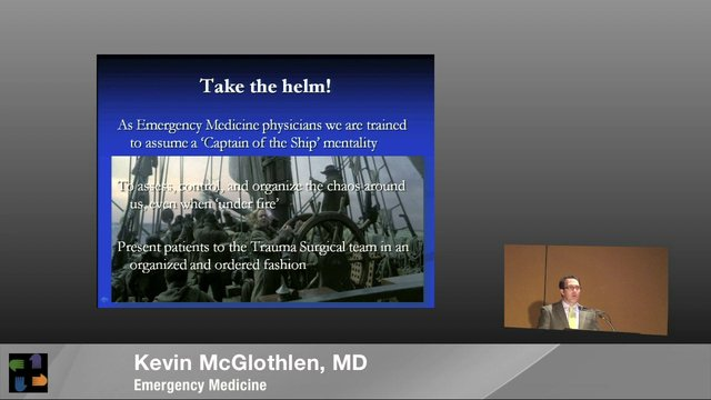 EM Physician's Perspective on the Aurora Theater Mass Shooting