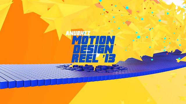 ! ANUBHAV MOTION GRAPHICS REEL 2013
