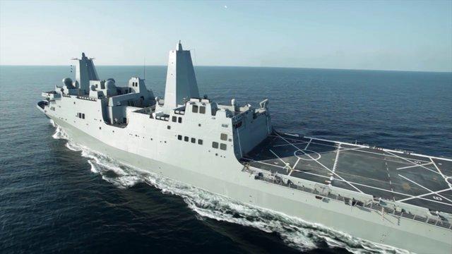 USS Anchorage LPD 23 Builders Trials on Vimeo