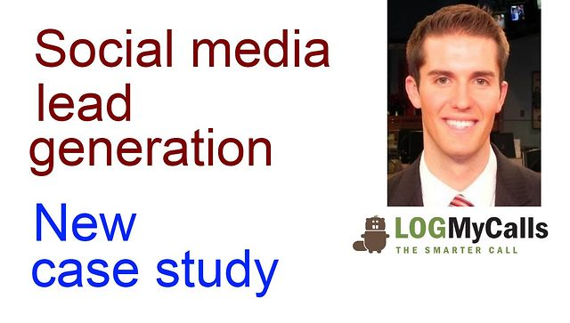 Social Media Lead Generation | B2B Case Study: LogMyCalls