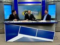 Alfredo Marques e Freitas Junior comandam entrevista com o vereador Acrísio Sena