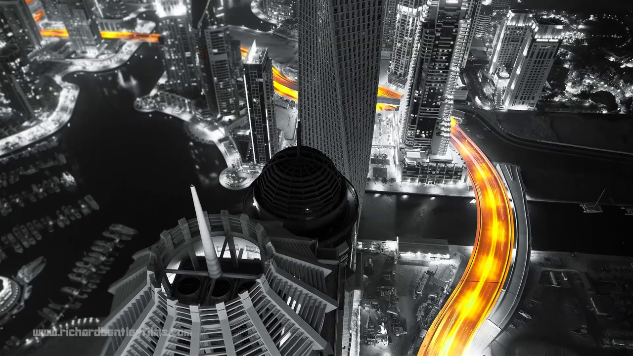not any colour (another Dubai timelapse?)