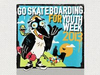 Go Skateboarding For Youth Week 2013