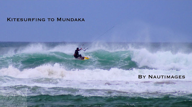 Kitesurfing to Mundaka
