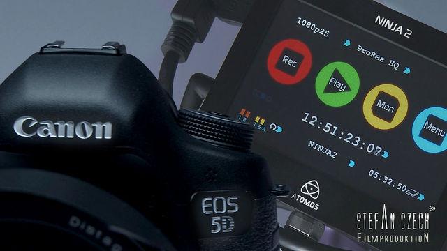 Canon 5D Mark III & Atomos Ninja 2 ...finally
