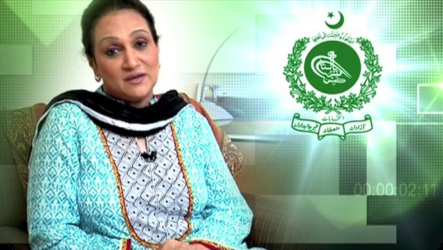 Bushra Ansari wants you to vote