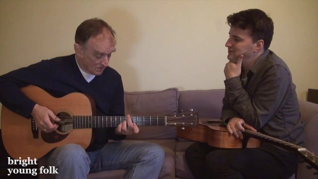 Martin Carthy & Jim Moray discuss English folk guitar