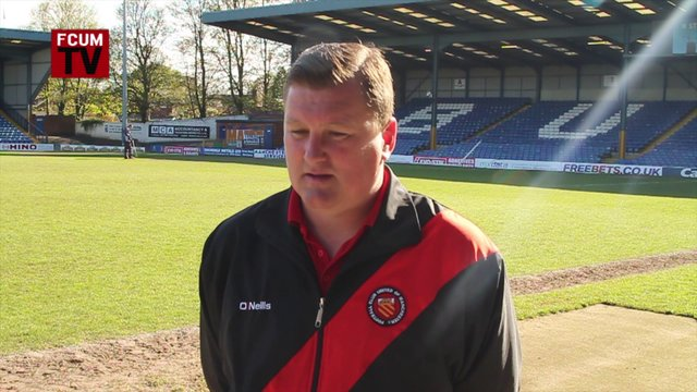 FCUM v Frickley - Post Match Interview (4-5-13)