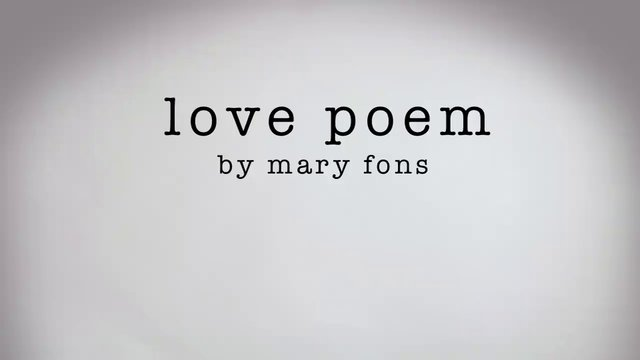 Love Poem - Short Film