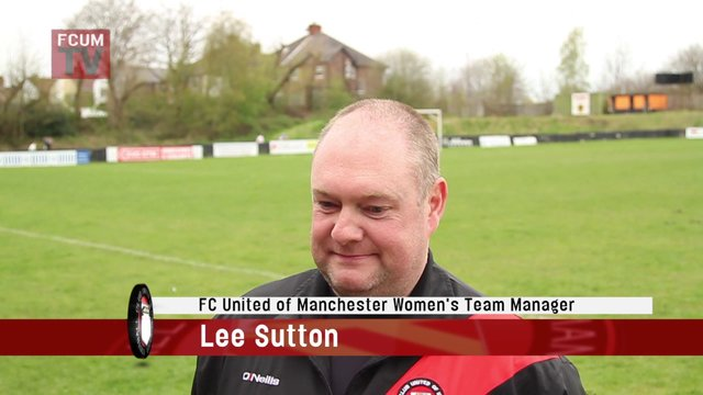 FCUM Women v Manchester City Ladies FC - League Cup Final - Post Match Interview