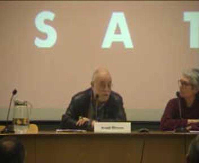 Debat amb Arcadi Oliveres sobre Economia i Educació
