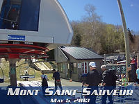 Mont Saint-Sauveur : May 5, 2013
