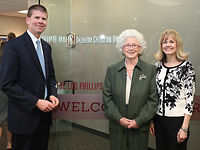 OC dedicates Lou Phillips Welcome Center