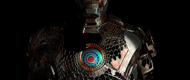 "IRON MAN III ""CONCEPT TITLES: BUILT FROM WITHIN"