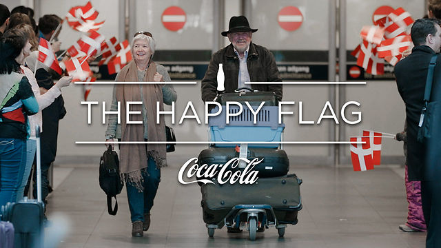 Coca-cola Happy Flag