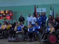 Volunteers in Wheelchair Rugby