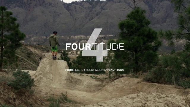 Mountain Bike News - Fourtitude: Four Riders + Rocky Mountain Altitude
