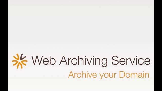 Archive your Domain