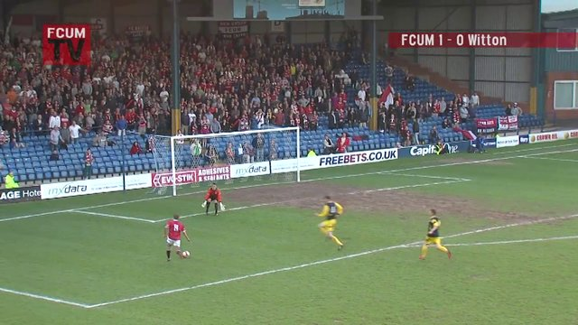 FCUM v Witton Albion - Playoff Semi Final - Goal 2