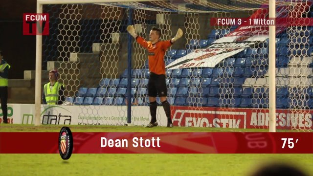 FCUM v Witton Albion - Playoff semi final - Goal 4
