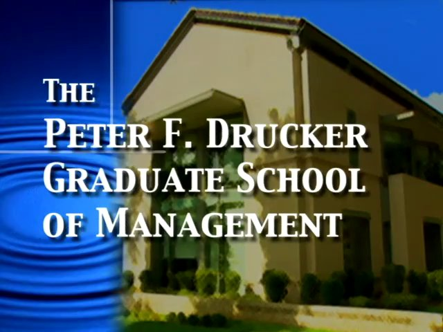Peter Drucker School Profile