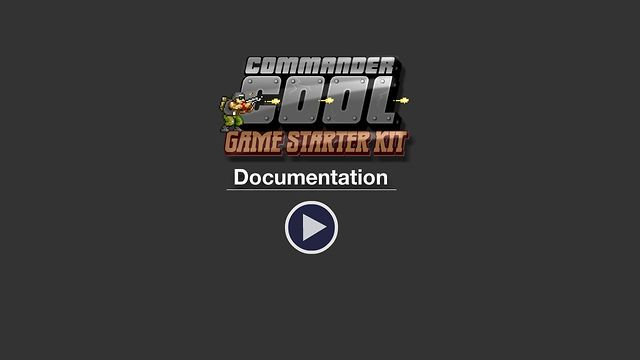Commander Cool iOS Platformer Starter Kit video