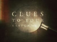 Clues to Your Assignment