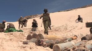 AMISOM DJIBOUTIAN CONTINGENT TRAIN FORMER PRO-GOVERNMENT MILITIA