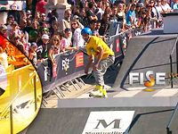 Alfano Stephane - 1st place Qualif Roller Splopestyle Pro - FISE World Montpellier 2013