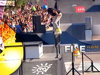 Stephane Alphano - 2nd Final Roller Slopestyle - FISE World Montpellier 2013