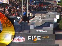 Romain Godenaire - 3rd Final Roller Slopestyle - FISE World Montpellier 2013
