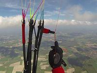 82 km Paragliding-Xcountry-Flug im norddeutschen Flachland